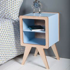 space bedside table by obi furniture   notonthehighstreet.com