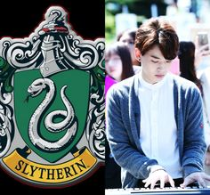HP&KPOP // Slytherin // Junhyeok of DAY6