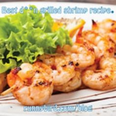 Don't heat up your kitchen — make dinner on the grill! This shrimp recipe will wow your family but it only takes a few minutes to make. Grilled Shrimp Skewers, Grilled Shrimp Recipes, Baked Shrimp, Shrimp Tacos, Quick Easy Meals, Cauliflower, Healthy Lifestyle, Healthy Recipes, Meat