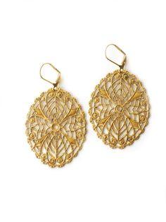 Erie Filigree Earrings