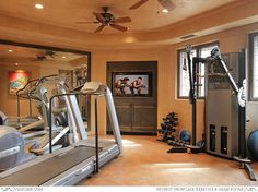 Residential Exercise Room