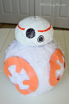 My son wanted a BB-8 piñata. Unfortunately, the stores I went to didn't have BB-8 so I decided to make a BB-8 Piñata. Come see how to make a BB-8 piñata!