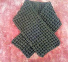 Crochet mans skarf