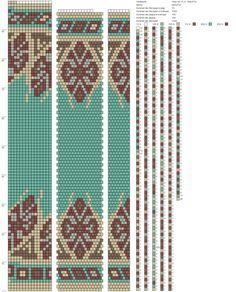 15 around bead crochet rope pattern Bead Crochet Patterns, Beaded Jewelry Patterns, Peyote Patterns, Beading Patterns, Spiral Crochet, Bead Crochet Rope, Crochet Beaded Necklace, Tapestry Crochet, Loom Beading