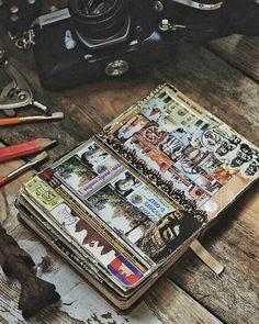 Benditos os curiosos... pois terão muita aventura à sua espera   Taí uma ideia para domingos preguiçosos: pôr em dia (ou começar) seu diário de viagens (e planos!)