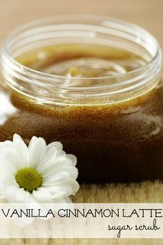 A yummy recipe to create your very own vanilla cinnamon sugar scrub. This sublime body scrub to increase circulation and bring new life to dehydrated skin. DIY Vanilla Cinnamon Latte Sugar Scrub via tipsaholic.com #vanilla #cinnamon #sugar #scrub #bodyscrub #beauty