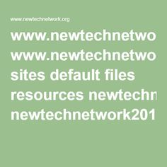 www.newtechnetwork.org sites default files resources newtechnetwork2015studentoutcomesreport.pdf