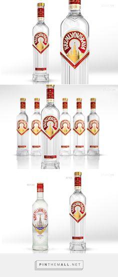 Vodka KREMLYOVSKAYA - by STUDIOIN packaging ideas PD