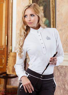 GLÖÖCKLER Competition Shirt - Silver Crown