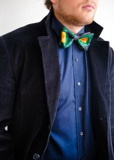 African Leather bow tie | How to Style | The Zinge Men's Collection - Love Lakeri | Love Lakeri | Kampala, Uganda | Toronto, Ontario
