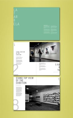 Layout booklet my exibition