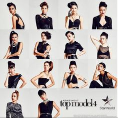 Asia's Next Model — a spin-off of America's Next Top Model that's owned by Tyra Banks — recently announced the contestants for their 4th cycle.