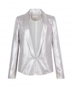Sandro - Virginale Silver Tuxedo Jacket