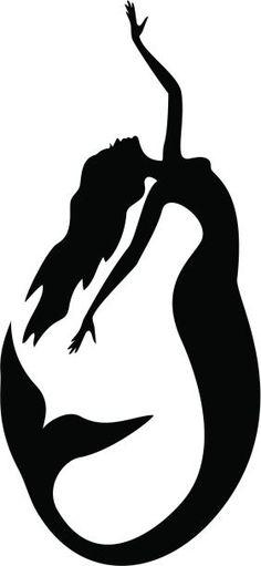 Painting Mermaid Silhouette 41 New Ideas Mermaid tattoo – Top Fashion Tattoos Silhouette Tattoos, Silhouette Painting, Animal Silhouette, Mermaid Silhouette, Silhouette Projects, Silhouette Vector, Mermaid Quilt, Mermaid Art, Mermaid Paintings
