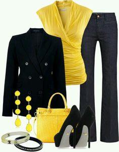 Yellow/ black