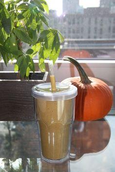 Easy-to-Make Cinnamon Pumpkin Smoothie