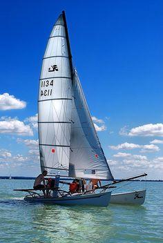 Sailing on Balaton  http://turksail.com.tr