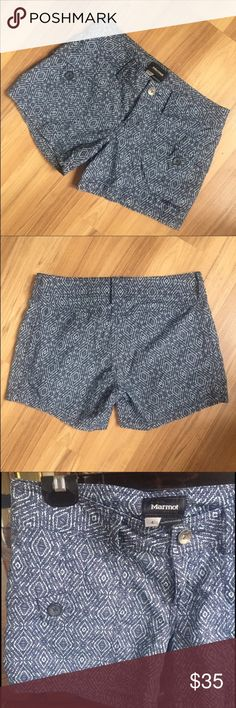 Marmot Ginny hiking shorts Size 4. Never worn. Marmot Ginny hiking shorts Marmot Shorts