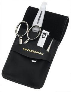 Amazon.com: Tweezerman Deluxe Men's Grooming Kit: Tweezerman: Health & Personal Care
