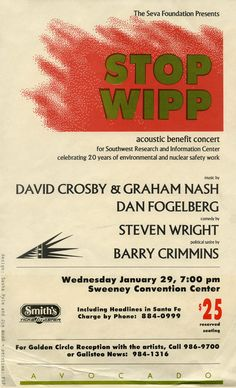 Dan Fogelberg    David Crosby & Graham Nash  acoustic benefit concert