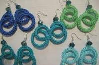 Orecchini Crochet facili facili