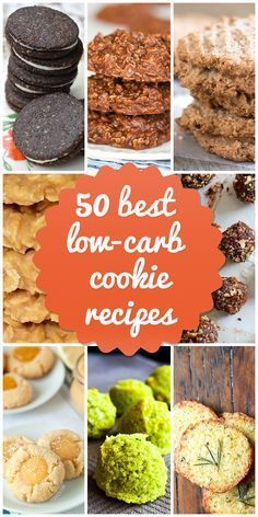 50 Best Low-carb Cookies to Keep You Baking All Year   http://www.lowcarblab.com/best-low-carb-cookies/