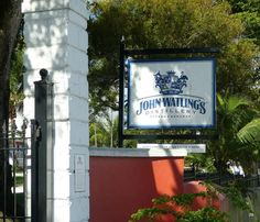 Visiting John Walting's is a quick stop to view the rum making process and get a free frozen sample! They provide a self guided tour for free where you can read about the history of the establishment.