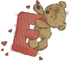 teddy bear with letter e christmas stocking pattern christmas stockings towel embroidery letter