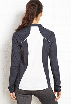Outside Paneled Running Jacket | FOREVER 21 - 2000070408