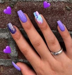 Do you love nail designs? So do we! Today we have 20 Trending Nail Designs That … Do you love nail designs? So do we! Today we have 20 Trending Nail Designs That You Will Love! How do we know that you will love them? Well, because we love them! Best Acrylic Nails, Summer Acrylic Nails, Summer Nails, Nails Summer Colors, Fancy Nails, Love Nails, My Nails, Gorgeous Nails, Elegant Nails