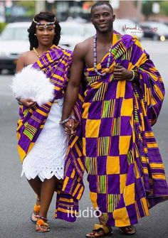 Discover a variety of kente outfits for ghanaian weddings. Get inspiration (view pictures of kente outfits) to help plan or attend a wedding.