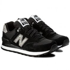 Sneakersy NEW BALANCE - WL574CIE Czarny