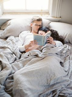 3. Почитаю книгу с мужем.