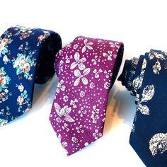 Neckties for Men- Tom's Stylist Modern Fashion, Men's Fashion, Men's Toms, Colorful Socks, Men's Wardrobe, Skinny Ties, Floral Tie, Fashion Accessories, Stylists