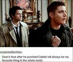And Castiel's face in the background