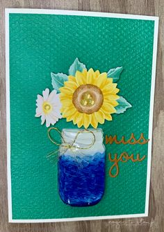 Paper Sunflowers: Three Gorgeous Ideas To Try Today! ⋆ Eager To Stamp