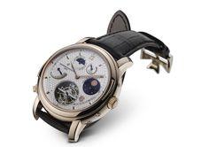 "The ""Tour de L'Ile"" Supercomplication Wristwatch for Vacheron Constantin's 250th Anniversary in 2005."