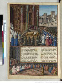 BNF, Français 5594, f. 118v, Passages faiz oultre mer par les François contre les Turcqs et autres Sarrazins et Mores oultre marins.