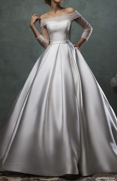 gown, gala, dress, wedding dress