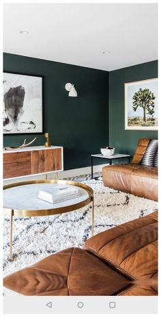 Dark Green Living Room, Dark Green Walls, Dark Living Rooms, Living Room Paint, New Living Room, My New Room, Dark Walls, Living Room Decor Green, Dark Bedrooms