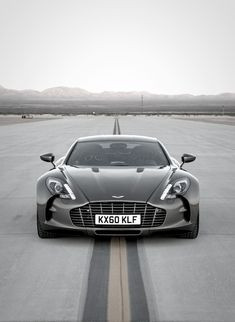 Undeniably Beautiful Aston Martin One-77 -
