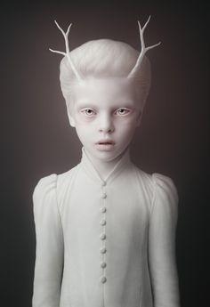 Creepy digital art by Oleg Dou
