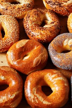 Dan Graf, a genetics major who dropped out of Rutgers, founded Baron Baking in… Montreal Bagels Recipe, Homemade Bagels, Baking Stone, Bread Rolls, Dry Yeast, Baron, Favorite Recipes, Bergen County, Cooking