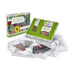 Crayola Adult Coloring - Creative Escapes Gift Set #Crayola