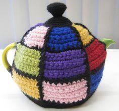 Ravelry: JacqBrisbane's Quilt tea-cosy