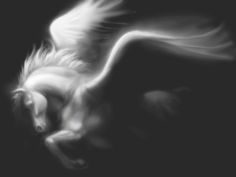 Pegasus, fading by ~SMcNonnahs on deviantART