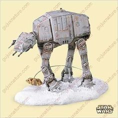 2006 Hallmark Imperial AT-AT and Rebel Snowspeeder Star Wars Hallmark http://www.amazon.com/dp/B000IX4Y1A/ref=cm_sw_r_pi_dp_4zjItb13H1HBY2NX