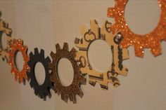 Steampunk Your Halloween Decorations with These DIY Interlocking Paper Gears « Steampunk R&D