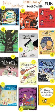 Julia's Bookbag: The Big Halloween Booklist!