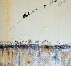 Art gallery: abstract paintings from Astrid Van den Bosch